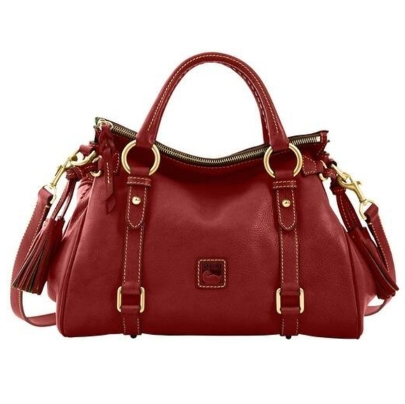 Dooney & Bourke Handbags - Red Dooney&Burke purse New Florentine satchel $399